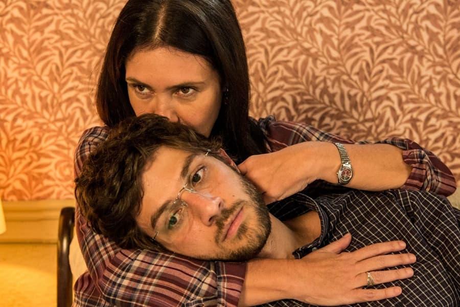 Thelma e Danilo na novela Amor de Mãe